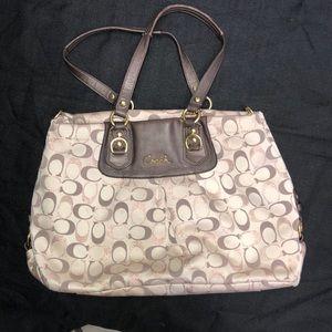 Coach satchel style purse